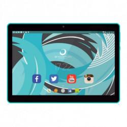 Brigmton BTPC-1019 tablette Allwinner A33 16 Go Noir, Bleu BTPC-1019QC-A