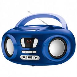 Brigmton W-501-A impianto stereo portatile Digitale 6 W Grigio, Argento