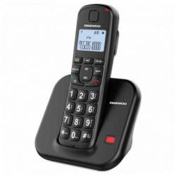 Daewoo Kabelloses Telefon DTD-7200B Schwarz