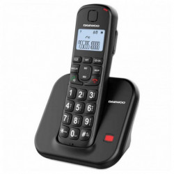 Daewoo Téléphone Sans Fil DTD-7200B Noir