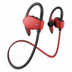 Energy Sistem Écouteurs de Sport avec Microphone Sport 1 Bluetooth Rouge