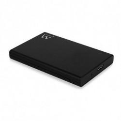 Eminent Portable 3.5 Harddisk Enclosure SATA and IDE Gris Alimenté par port USB EM7044