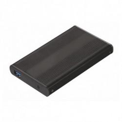 TooQ TQE-2524B Boîtier de disques de stockage 2.5 Boîtier HDD Noir