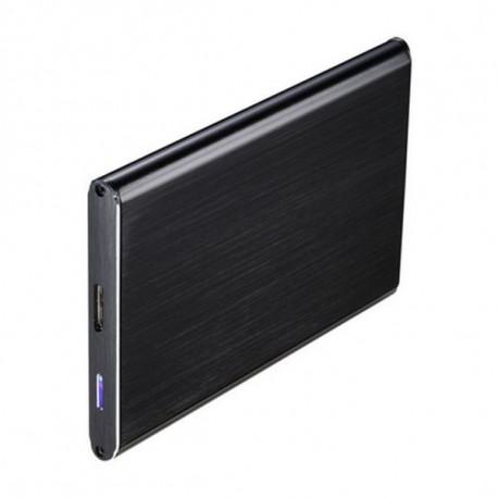 TooQ TQE-2529B caja para disco duro externo 2.5 Carcasa de disco duro/SSD Negro