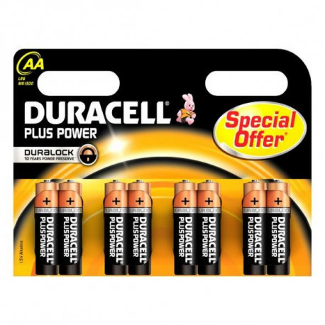 Duracell Plus Power Single-use battery AA Alkaline 5000394017795