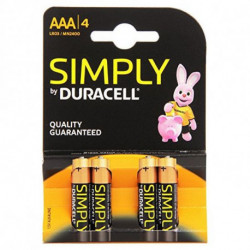 Duracell 002432 batteria per uso domestico Single-use battery AAA Alcalino