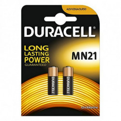 DURACELL Batterie Alcaline Security DRB212 MN21 12V 1.5W (2 pcs)