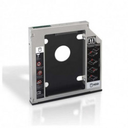 NANOCABLE Adaptador Metálico para 2 Discos Duros (3.5/8,89 cm) 10.99.0102