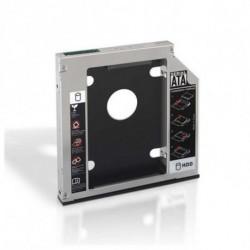 NANOCABLE Adaptateur Métallique pour 2 Disques Durs (3,5/8,89 cm) 10.99.0102