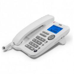 SPC Téléphone fixe 3608B LCD Blanc