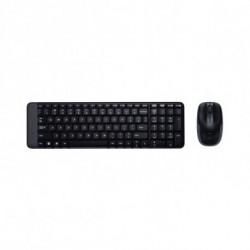 Logitech MK220 keyboard RF Wireless Spanish Black 920-003159