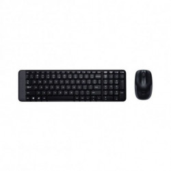 Logitech MK220 teclado RF Wireless Espanhol Preto 920-003159
