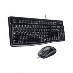 Logitech Desktop MK120 clavier USB QWERTY US International Noir 920-002562