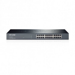 TP-Link Commutateur Réseau Armoire TL-SG1024 48P Gigabit 1 U 19 Métal