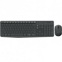 Logitech Keyboard and Wireless Mouse 920-007919 Grey