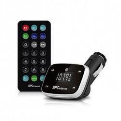 SPC Lecteur MP3 pour Voiture 8150N LCD SD USB Noir
