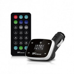 SPC Reprodutor MP3 para Carros 8150N LCD SD USB Preto