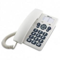 SPC Téléphone fixe 3602 Blanc