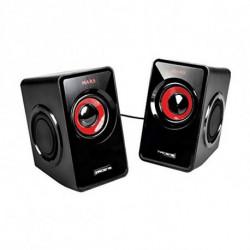 Mars Gaming MS1 haut-parleur 10 W Noir, Rouge
