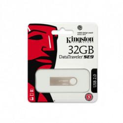 Kingston Technology DataTraveler SE9 32GB lecteur USB flash 32 Go USB Type-A 2.0 Beige DTSE9H/32GB