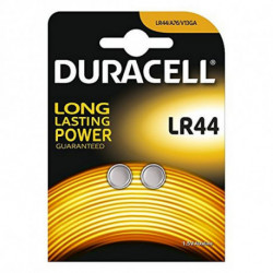 DURACELL Alkaline Button Cell Batteries DRBLR442 LR44 1.5V (2 pcs)