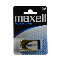 Maxell Alkaline Battery MXBLR6LR61 LR61 9V