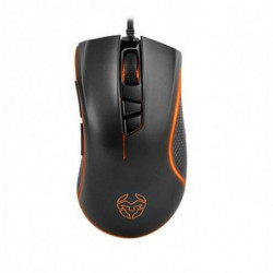 Krom LED Gaming Mouse Khuno Khuno 400 dpi/5000 dpi Black