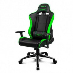 DRIFT Gaming Chair DR200BG 90-160º Foam PU Black Green