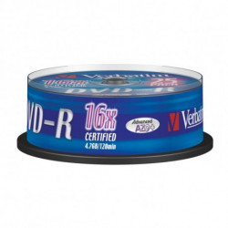 Verbatim 43667 4.7 GB DVD-R 25 pc(s) 43522