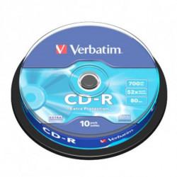 Verbatim CD-R Extra Protection 700 Mo 10 pièce(s) 43437