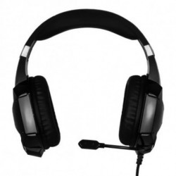 Auriculares com microfone para Vídeojogos NOX NXKROMKPST Preto