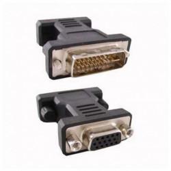 NANOCABLE 24 + 5 DVI Converter to VGA HDB 15 10.15.0704 Macho Fêmea