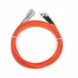 iggual IGG311479 Glasfaserkabel 5 m OM2 2x ST 2x SC Orange