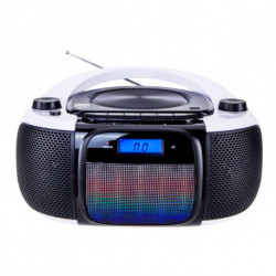 Daewoo Radio CD Bluetooth MP3 DBU-61 KARAOKE FM SD 220 V Grigio Nero