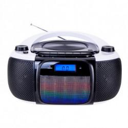 Daewoo Radio-CD Bluetooth MP3 DBU-61 KARAOKE FM SD 220 V Gris Noir
