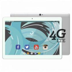 Brigmton BTPC-1023OC4G-B tablette Mediatek MT6753 32 Go 3G 4G Blanc