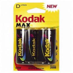 Kodak Batteria Alcalina LR20 1,5 V (2 pcs)