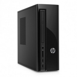 HP 260-p100ns Intel® Core™ i3 der sechsten Generation i3-6100T 4 GB DDR4-SDRAM 1000 GB Festplatte Schwarz Mini Tower PC Y4L51EA