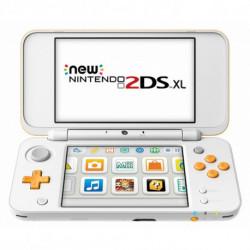 Nintendo New 2DS XL 223593 4 GB microSDHC Weiß Orange