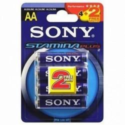 Sony Alkline-Batterie 220512 1,5 V AAA Blau AM4-B4X2D
