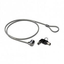 Ewent EW1242 cable antirrobo Negro, Acero inoxidable 1,5 m