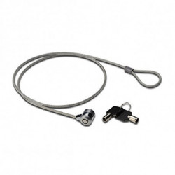 Ewent EW1242 cable lock Black,Stainless steel 1.5 m
