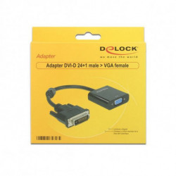 DELOCK Adaptador VGA para DVI APTAPC0561 65658 24+1