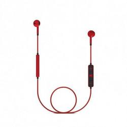 Energy Sistem Bluetooth Kopfhörer mit Mikrofon 428410 V4.1 100 mAh Rot