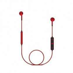 Energy Sistem Auriculares Bluetooth con Micrófono 428410 V4.1 100 mAh Rojo