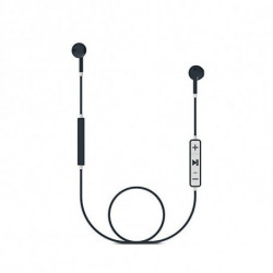 Energy Sistem Auricolari Bluetooth con Microfono 428175 V4.1 100 mAh Grigio