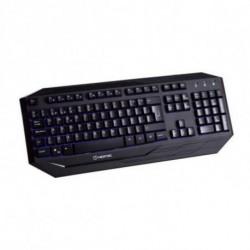 Hiditec GK200 clavier USB QWERTY Noir GKE010000