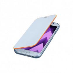 Samsung EF-FA520 capa para telemóvel Capa flip Azul EF-FA520PLEGWW