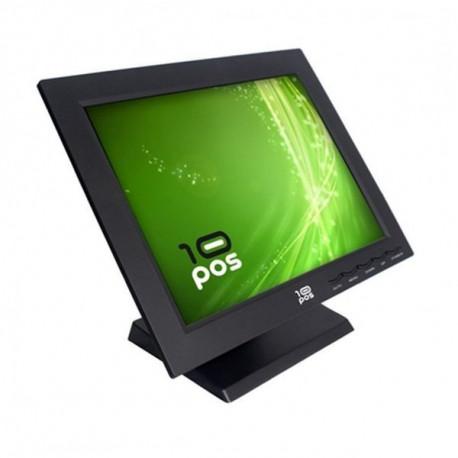 10POS Monitor com tela tátil FMOM150012 TS-15V TFT LCD 15 Preto