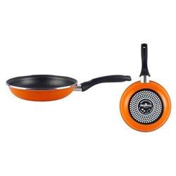 Poêle anti-adhésive Magefesa Valencia Ø 22 cm Noir Orange